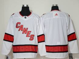 Mens Nhl Carolina Hurricanes Blank White Away Breakaway Player Jersey