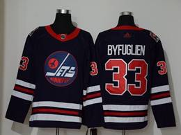 Mens Nhl Winnipeg Jets #33 Dustin Byfuglien Black Adidas Player Jersey