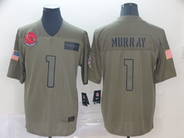 Mens Nfl Arizona Cardinals #1 Kyler Murray Green 2019 Salute To Service Limited Jersey