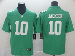 Mens Nfl Philadelphia Eagles #10 Desean Jackson Light Green Vapor Untouchable Limited Jersey