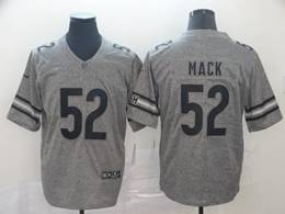 Mens Nfl Chicago Bears #52 Khalil Mack Gray Vapor Untouchable Limited Jersey