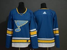 Mens Nhl St.louis Blues Blank Blue Adidas Player Jersey