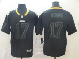 Mens Nfl Green Bay Packers #17 Davante Adams Lights Out Black Vapor Untouchable Limited Jersey