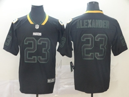 Mens Nfl Green Bay Packers #23 Jaire Alexander Lights Out Black Vapor Untouchable Limited Jersey