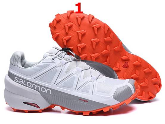 Mens Salomon Speed Cross 5 Running Shoes 2 Colors