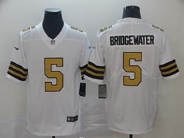 Mens Nfl New Orleans Saints #5 Teddy Bridgewater White Color Rush Vapor Untouchable Limited Jersey