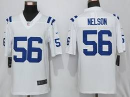 Mens Nfl Indianapolis Colts #56 Quenton Nelson White Nike Vapor Untouchable Limited Jersey