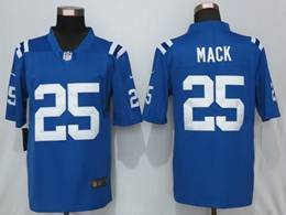 Mens Nfl Indianapolis Colts #25 Marlon Mack Blue Nike Vapor Untouchable Limited Jersey