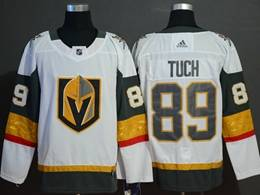 Mens Nhl Vegas Golden Knights #89 Alex Tuch White Adidas Jersey