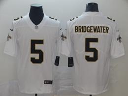 Mens Nfl New Orleans Saints #5 Teddy Bridgewater White Vapor Untouchable Limited Jersey