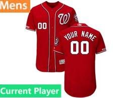 Mens Mlb Washington Nationals Current Player Red 2019 World Series Champions Flex Base Jersey