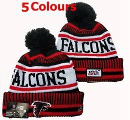 Mens Nfl Atlanta Falcons 100th New Sport Knit Hats 5 Colors