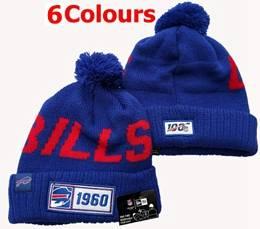 Mens Nfl Buffalo Bills 100th New Sport Knit Hats 6 Colors
