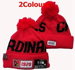 Mens Nfl Arizona Cardinals Red 100th New Sport Knit Hats