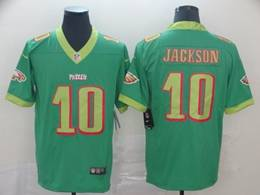 Mens Nfl Philadelphia Eagles #10 Desean Jackson Light Green City Edition Vapor Untouchable Limited Jersey