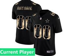 Mens Nfl Dallas Cowboys Current Player Black Statue Of Liberty Vapor Untouchable Limited Jerseys