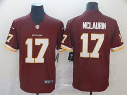 Mens Nfl Washington Redskins #17 Terry Mclaurin Red Nike Vapor Untouchable Limited Jersey
