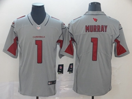 Mens Nfl Arizona Cardinals #1 Kyler Murray Gray Nike Inverted Legend Vapor Untouchable Limited Jersey