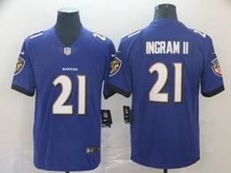 Mens Nfl Baltimore Ravens #21 Mark Ingram Ii Purple Vapor Untouchable Limited Jerseys