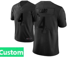 Mens Nfl Oakland Raiders Custom Made Black City Edition Vapor Untouchable Limited Nike Jerseys