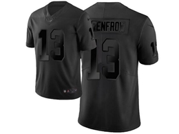 Mens Nfl Oakland Raiders #13 Hunter Renfrow Black City Edition Vapor Untouchable Limited Nike Jerseys