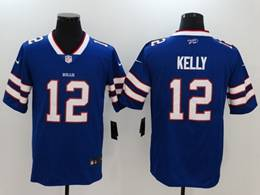 Mens Nfl Buffalo Bills #12 Jim Kelly Blue 2019 Vapor Untouchable Limited Player Jersey
