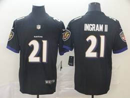 Mens Nfl Baltimore Ravens #21 Mark Ingram Ii Black Vapor Untouchable Limited Jerseys