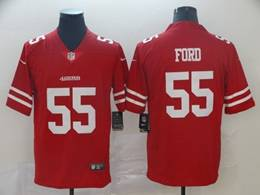 Mens Nfl San Francisco 49ers #55 Dee Ford Red Vapor Untouchable Limited Jersey