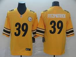 Mens Women Pittsburgh Steelers #39 Minkah Fitzpatrick Gold Nike Inverted Legend Vapor Untouchable Limited Jersey