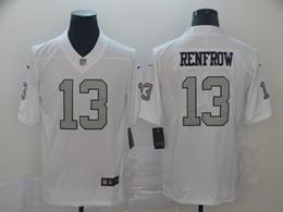 Mens Nfl Oakland Raiders #13 Hunter Renfrow White Color Rush Vapor Untouchable Limited Nike Jerseys