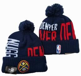 Mens Nba Denver Nuggets Blue&red Sport Knit Hats