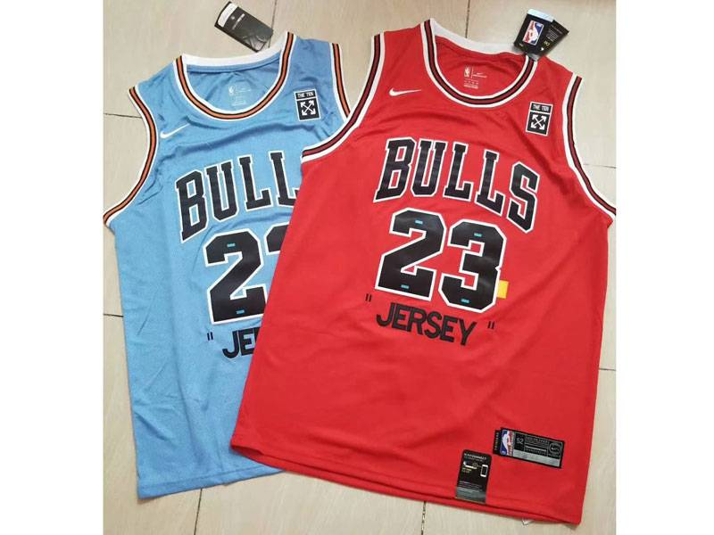 Mens Nba Chicago Bulls #23 Michael Jordan Nike 85th Jersey