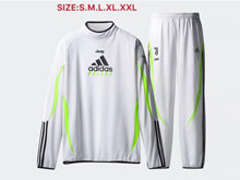 Mens 19-20 Soccer Juventus Club White Training And White Sweat Pants Training Suit ( High Collar )