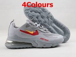 Mens And Women Nike Air Max 270-2 React (just Do It.) Running Shoes 4 Colors