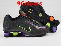 Mens Nike Shox R4 Running Shoes 9 Colours