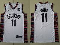 Mens 2019 New Nba Brooklyn Nets Custom Made White City Edition Nike Jersey