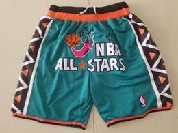 Mens Nba 1996 All Star Green Nike Just Do Pocket Shorts