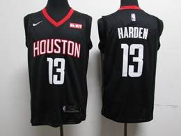 Mens Nba Houston Rockets #13 James Harden Black New Nike Jersey