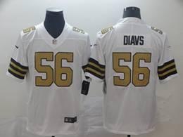 Mens Nfl New Orleans Saints #56 Demario Davis White Color Rush Vapor Untouchable Limited Jerseys
