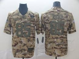 Mens Women Nfl San Francisco 49ers #85 George Kittle 2018 Camo Salute To Service Limited Jersey