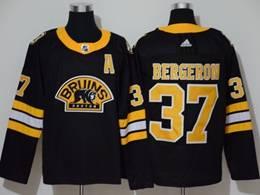 Mens Nhl Boston Bruins #37 Patrice Bergeron Black 3rd Inverted Legend Adidas Jersey