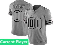 Mens Nfl Atlanta Falcons Current Player Heather Grey 2019 New Vapor Untouchable Limited Jersey