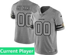 Mens Nfl New Orleans Saints Current Player Heather Grey 2019 New Vapor Untouchable Limited Jersey