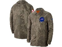 Mens Nfl Buffalo Bills Nike Camo 2019 Salute To Service Sideline Full-zip Lightweight Jacket