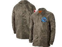 Mens Nfl Tennessee Titans Nike Camo 2019 Salute To Service Sideline Full-zip Lightweight Jacket