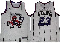 Mens Nba Toronto Raptors #23 Fred Vanvleet White New Season Hardwood Classics Nike Swingman Jersey