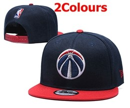 Mens Nba Washington Wizards Blue&red Snapback Adjustable Hats 2 Colors