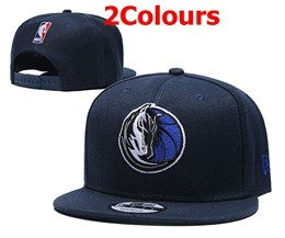 Mens Nba Dallas Mavericks Blue Snapback Adjustable Hats 2 Colors