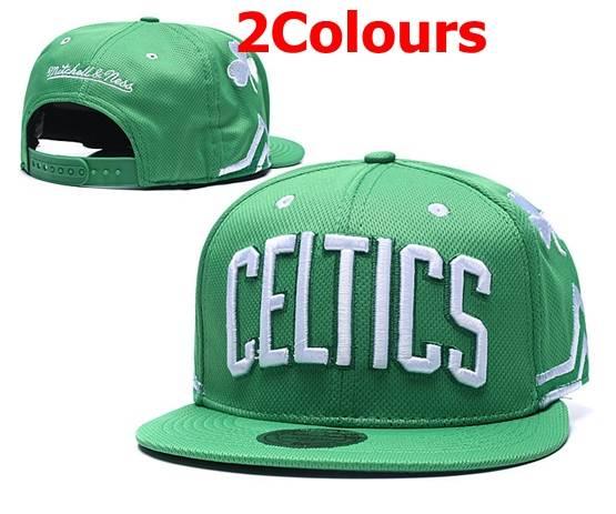 Mens Nba Boston Celtics Green&black Snapback Adjustable Hats  2 Colors