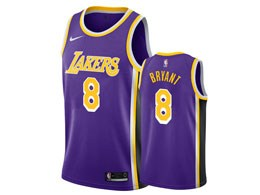 Mens Nba Los Angeles Lakers #8 Kobe Bryant 2018-19 Purple Swingman Jersey